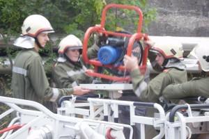 Techn. Ausbildung mit Schwerem Rüstfahrzeug und Drehleiter