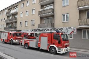 Wohnungsbrand Ybbsitzer Straße (Foto: © Martin Steinbach   NÖN)