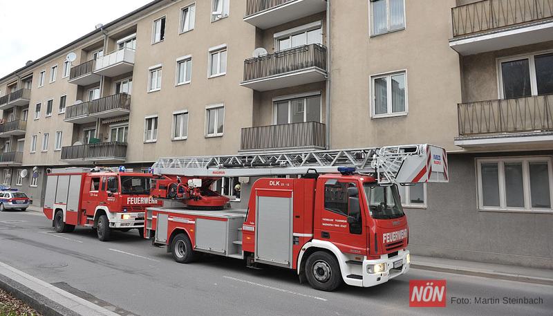 Wohnungsbrand Ybbsitzer Straße (Foto: © Martin Steinbach | NÖN)