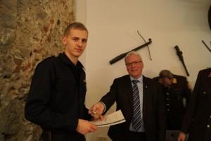 Bronzene Verdienstmedaille an VM Thomas Leitzinger