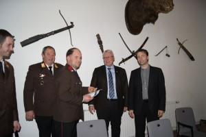 Goldene Verdienstmedaille an HLM Florian Hochbichler