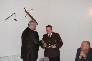 Goldene Verdienstmedaille an OFM Gregor Schmidt