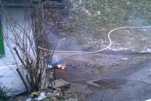 Brandeinsatz in Ybbsitz