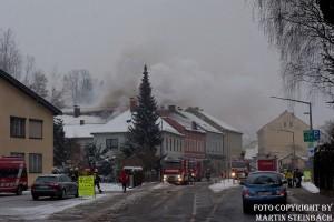 Wohnhausbrand in Weyer
