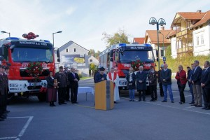 Fahrzeugsegnung RLF-T + TLF-T