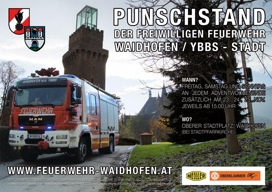 Feuerwehr-Punschstand 2012