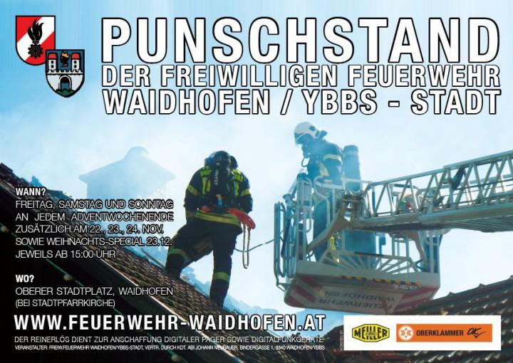 Feuerwehr-Punschstand 2013