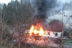 Großbrand in Ybbsitz