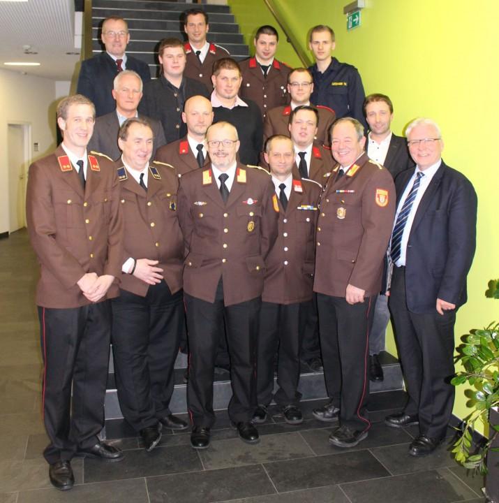 146. ordentliche Mitgliederversammlung der Freiwilligen Feuerwehr Waidhofen/Ybbs-Stadt