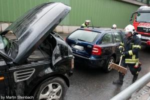 Auffahrunfall im Schillerparktunnel | Foto: Martin Steinbach
